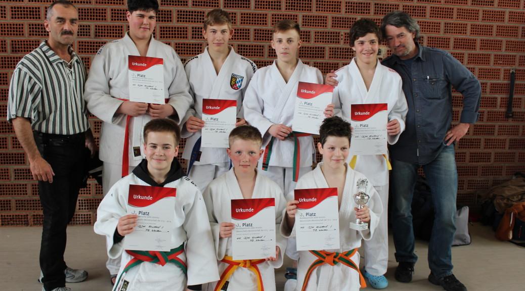Nordbayerische U15 Judo